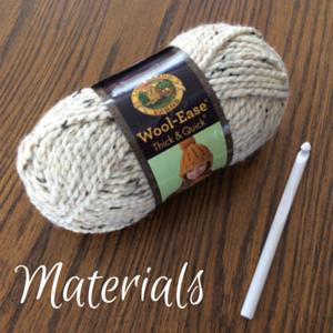 crochet scarf cuff 1