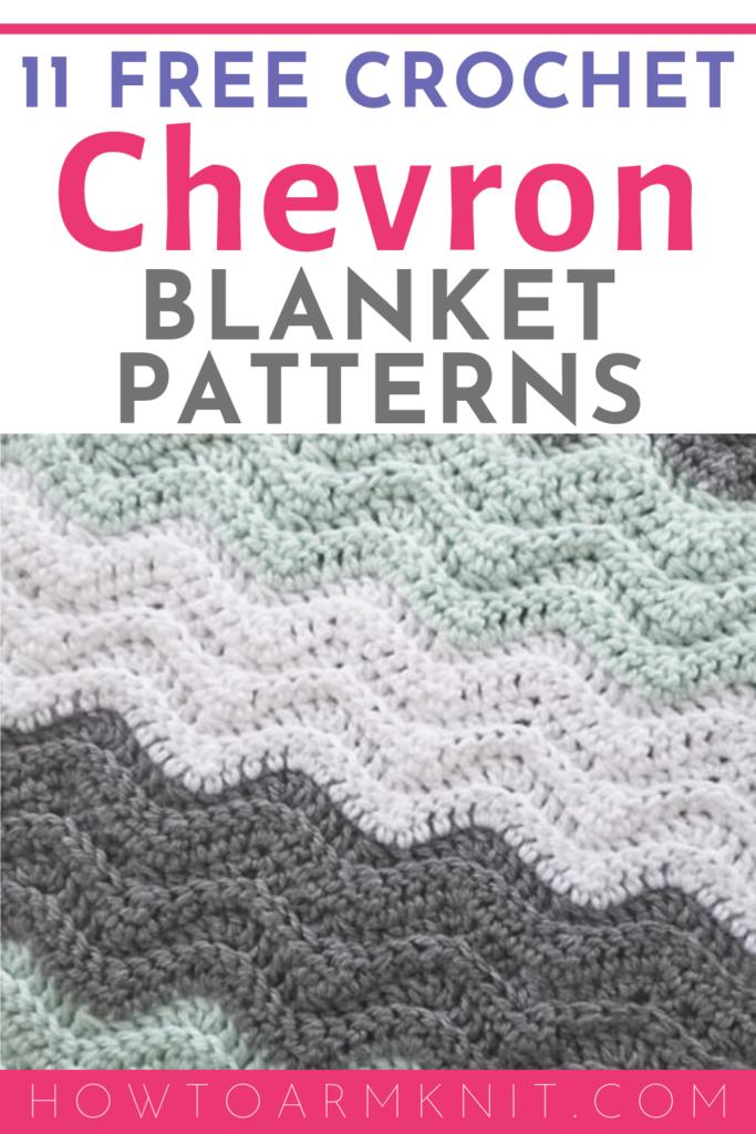 Free Chevron Afghan Crochet Patterns