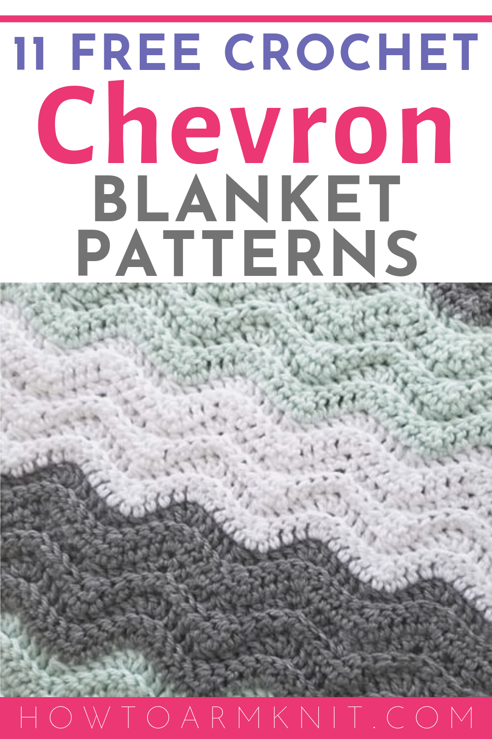 Free Chevron Afghan Crochet Patterns