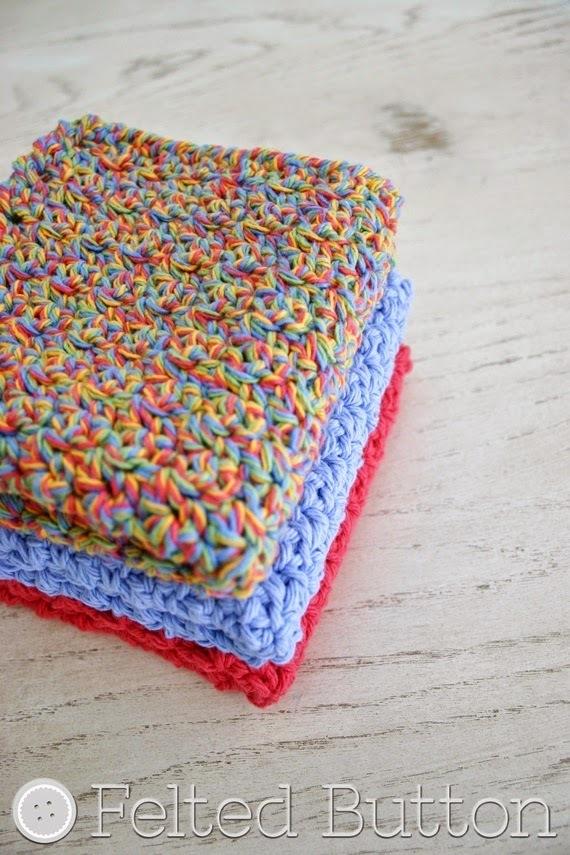 11 Super Useful Crochet Washcloth Patterns