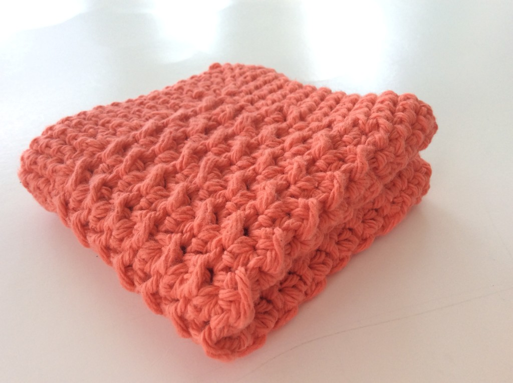 How To Make A Textured Crochet Washcloth Free Pattern