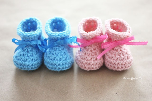 16 Adorable Baby Booties Amp Shoes Free Crochet Patterns