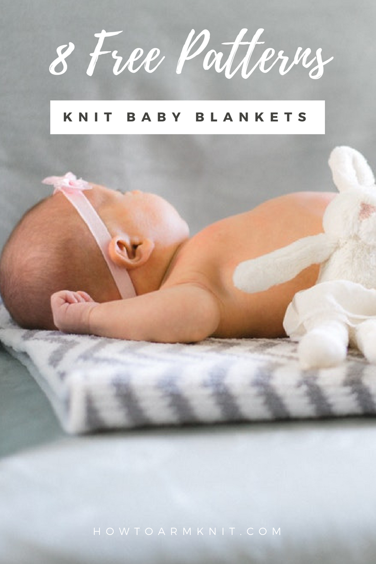knit baby blanket patterns