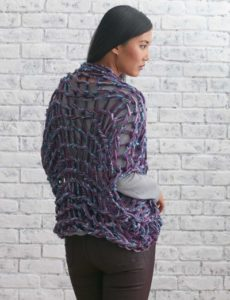 arm knit patterns shrug