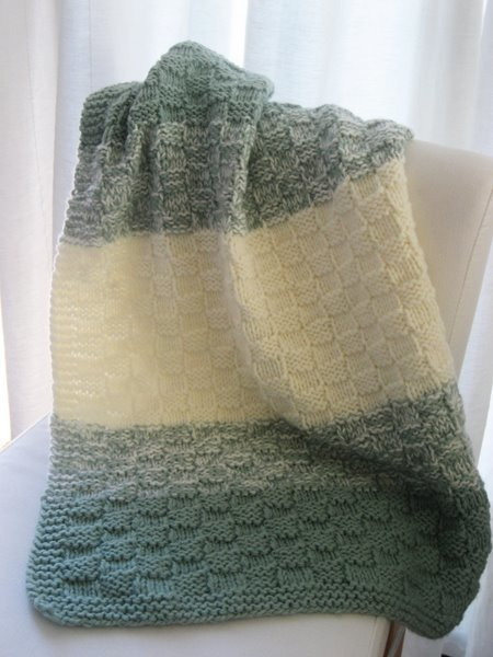 8 Super Cute Knit Baby Blanket Patterns Happiness Is