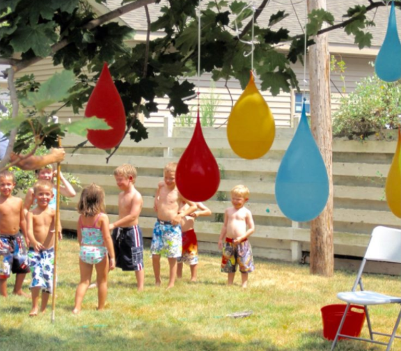 8 Cool Backyard Water Games for Kids & Teens - Hapiness is ...