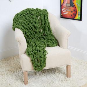 arm knit patterns blanket