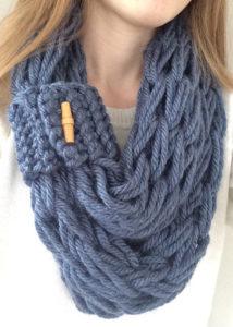 arm knit patterns scarf