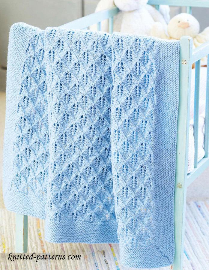 709b3fa48 8 Super Cute Knit Baby Blanket Patterns