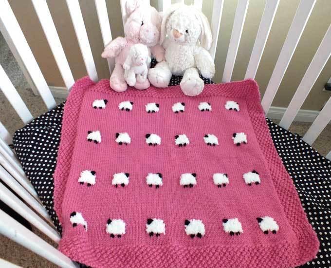 f7b0842e6 8 Super Cute Knit Baby Blanket Patterns