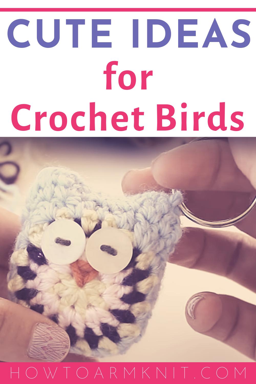 Amigurumi bird keychain, Design & Craft, Handmade Craft on Carousell | 1500x1000